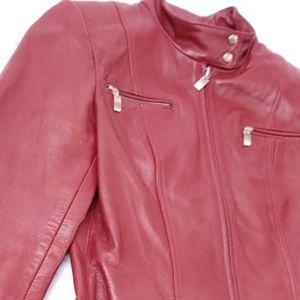 Hugo Buscati Leather Jacket